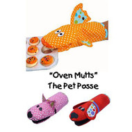 """Oven Mutts""...The Pet Posse"