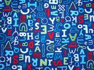 Alphabet - Navy