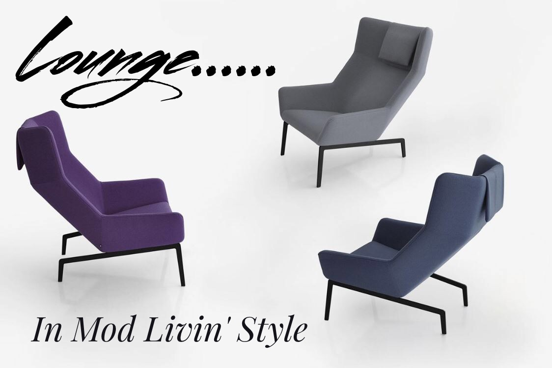 Mod Livin' Lounge Chairs