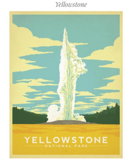 Yellowstone National Park Graphic Puzzle
