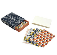 Orla Kiely Prints: Set of 12 Postcards & Envelopes