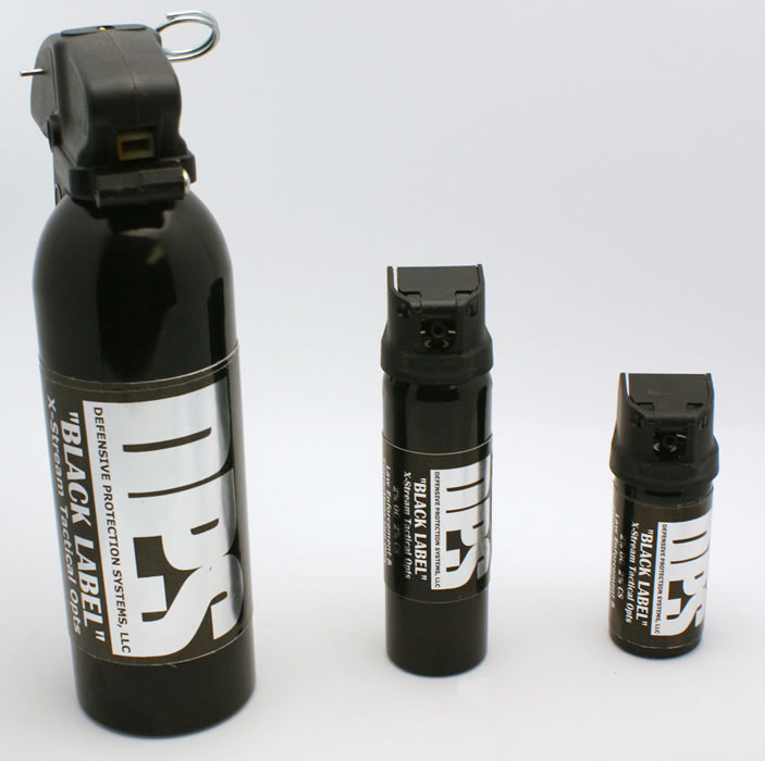 3bc8767d3f6 DPS Black Label CS OC Combo Spray - J L Self Defense Products
