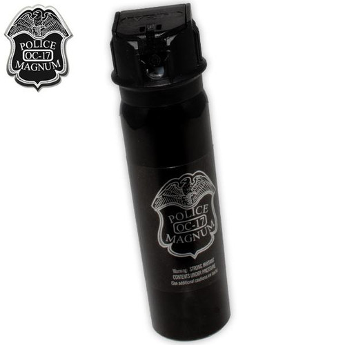 Police magnum 4 oz. pepper spray