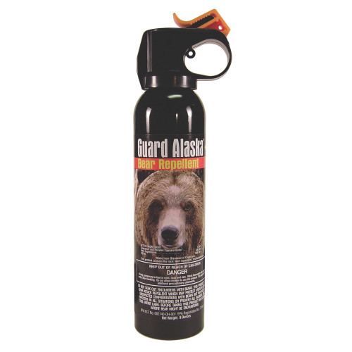 Guard Alaska Bear Spray.