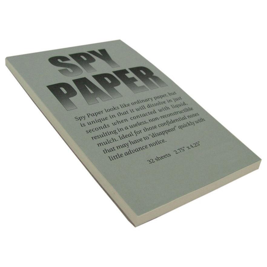 00ae0060aff Dissolving Spy Paper - J L Self Defense Products