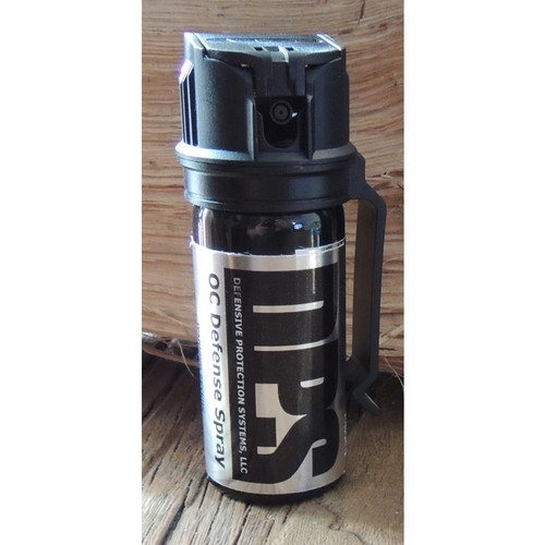 DPS 2 oz. Pepper spray with built in clip.
