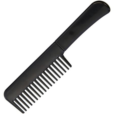 Self Defense comb knife covered.