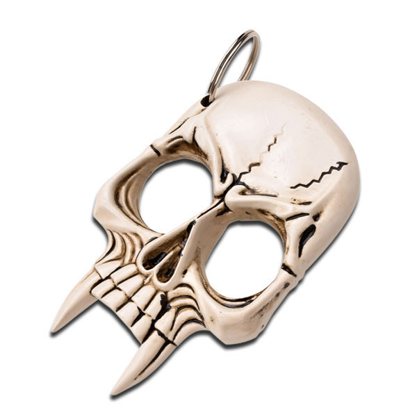 Skull Self Defense Keychain J L Self Defense Products