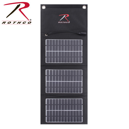 MOLLE Folding Solar Panel for emergency charging