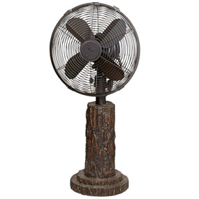 Table Fan - Fir Bark - DBF0610 - MIN ORDER: 1