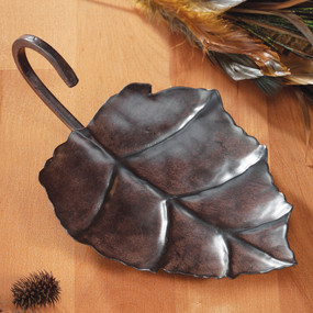 Fall - Candle Holder - Metal Leaf - FAL0725 - MIN ORDER: 6