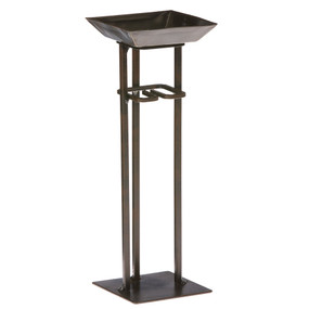 Candle On a Rope Holder - Tower Bronze - NAT1355 - MIN ORDER: 4
