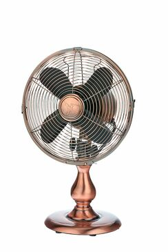 Table Fan - Copper - DBF6122 - MIN ORDER: 1