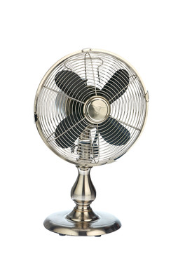 Classic Metal Stainless Steel Table Fan