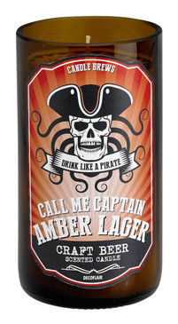 Micro-Brew Collection: Candles for Beer Lovers - Pirate Amber Lager