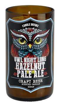 Happy Hour - Candle - Micro-Brew Owl Hazelnut Pale Ale - CDL7530 - MIN ORDER: 2