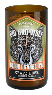 Happy Hour - Candle - Micro-Brew Wolf Blood Orange IPA - CDL7532 - MIN ORDER: 2