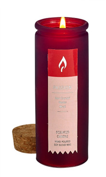NEW! Aromatherapy Tincture Bottle Candle - Passion 4 oz.
