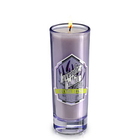 NEW! Cocktail Lounge Candle - Shot Glass- Lavender Collins 2oz.