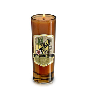NEW! Cocktail Lounge Candle - Shot Glass- Amaretto Sour 2 oz.