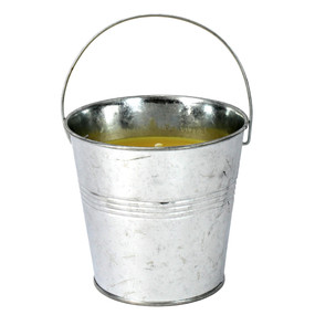 Candle - Galvanized Citronella Bucket 14 oz - PTC8768 - MIN ORDER: 6
