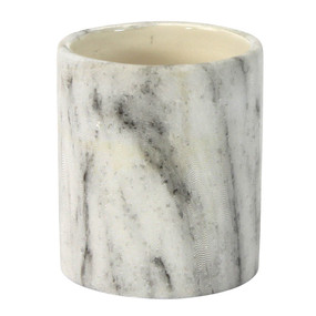 Candle Holder - Ceramic - Marble Finish  - PTC8605 - MIN ORDER: 6