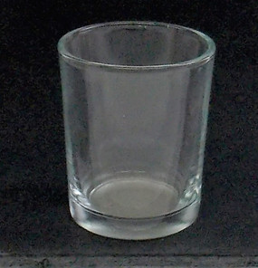 Candle Holder - Clear Glass  - PTC5874 - MIN ORDER: 6