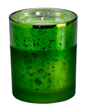 Holiday - Candle - Treasure - Green - HOL7559 - MIN ORDER: 2