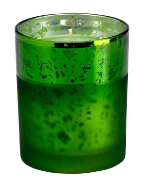 Holiday - Candle - Treasure - Green - HOL7559 - MIN ORDER: 2