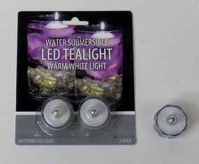 LED - Candle - TeaLight Waterproof - 2 pack - PTC6263 - MIN ORDER: 12
