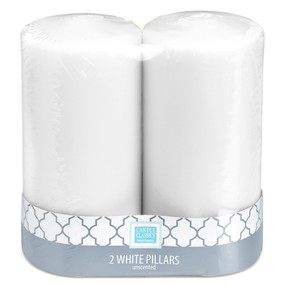 Candle - Basics - Pillar - 3x6 2 pack - PTC5279 - MIN ORDER: 6
