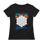 The Sedona Vortex Array Ladies' Scoopneck T-Shirt