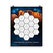 The Sedona Vortex Array Poster