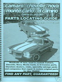 67 68 69 70 71 72 CAMARO/SS/Z2 8 PARTS LOCATING GUIDE