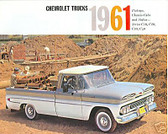 1961 CHEVROLET TRUCK SALES BROCHURE