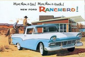 1957 FORD RANCHERO SALES BROCHURE