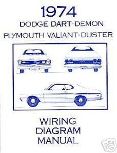 1974 74 plymouth duster dart wiring diagram mjl motorsports com1974 74 plymouth duster dart wiring diagram