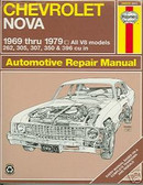 69 70 71 72 73 74 75 76 77 78 79 NOVA/SS SHOP MANUAL