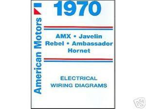 1970 70 amc javelin & amx wiring diagram manual - mjl motorsports.com amx wiring diagram  mjl motorsports.com