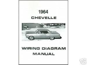 1964 64 CHEVELLE/EL CAMINO WIRING DIAGRAM MANUAL - MJL Motorsports.comMJL Motorsports.com