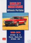 65 66 67 68 69 70 SHELBY ULTIMATE MUSCLE PORTFOLIO