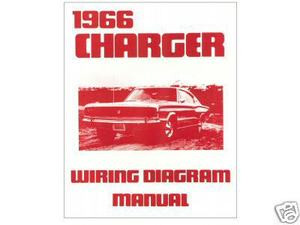 1966 66 dodge charger wiring diagram manual  image 1