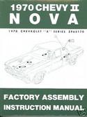 1970 NOVA/SS/CHEVY II FACTORY ASSEMBLY MANUAL