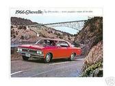 1966 66 CHEVELLE/ SS 396 SALES BROCHURE