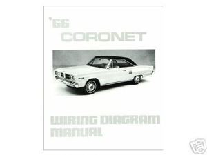 1966 66 dodge coronet wiring diagram manual mjl motorsports com 1966 Dodge Coronet Starter Wiring Diagram