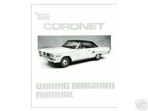1966 66 dodge coronet wiring diagram manual mjl motorsports com 1966 Dodge Coronet Fuel Gauge 1966 66 dodge coronet wiring diagram manual