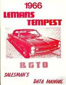 1966 66 PONTIAC GTO/ LEMANS ILLUSTRATED FACTS