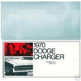 1970 70 DODGE CHARGER OWNER'S MANUAL & COVER