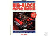 1968 69 CORONET/RT BIG BLOCK ENGINE REBUILD & INTERCH