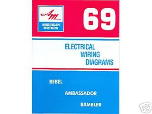 1969 69 Amc Javelin Amx Wiring Diagram Manual Mjl Motorsports Com